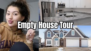 MY EMPTY HOUSE TOUR! | *My First Home*