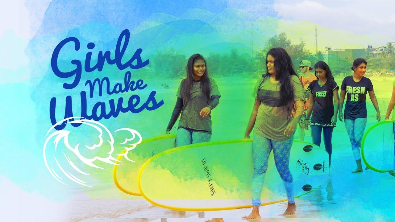 Arugam Bay Girls Surf Club's video poster