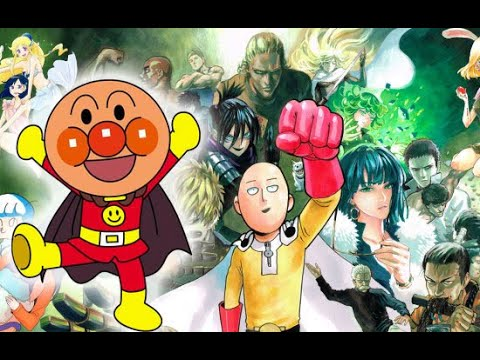 Hubungan Anime ONE PUNCH MAN dengan Anime Lawas Hero Kepala Roti Isi Kacang Merah ANPANMAN