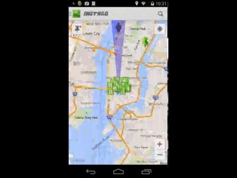 Video of Instago Street View Navigation