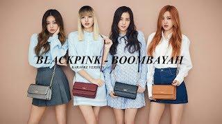 blackpink boombayah english lyrics karaoke - TH-Clip