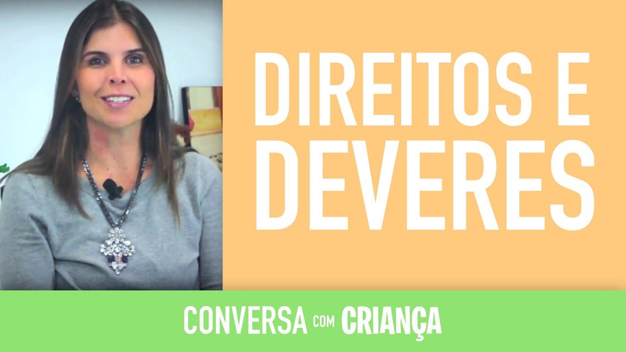 Direitos e Deveres das Crianças | Conversa com Criança | Psicóloga Infantil Daniella Freixo de Faria