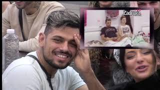 Zadruga 3 - Bora i Kemez dobili gromoglasan aplauz zbog ljubavi koju više ne kriju - 17.01.2020.