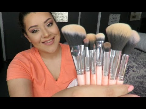 Marble Luxe 10 Piece Brush Set by BH Cosmetics #5