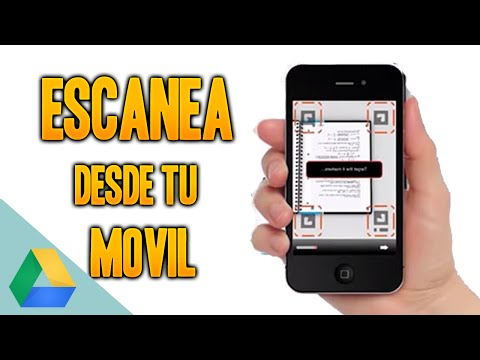 ESCANEAR FOTOS CON EL MOVIL GRATIS - Google Drive