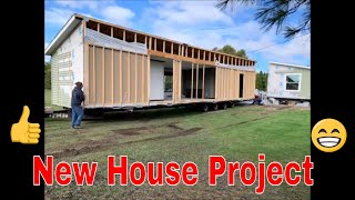 New Double Wide Manufactured Home Install. Start To Finish (Slides and Video)