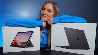 NEW Microsoft Surface Laptop 3 Unboxing and Drawing Challenge!
