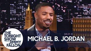 "Michael B. Jordan on Push-Ups with Lupita Nyong'o and Not Saying ""Wakanda Forever"""