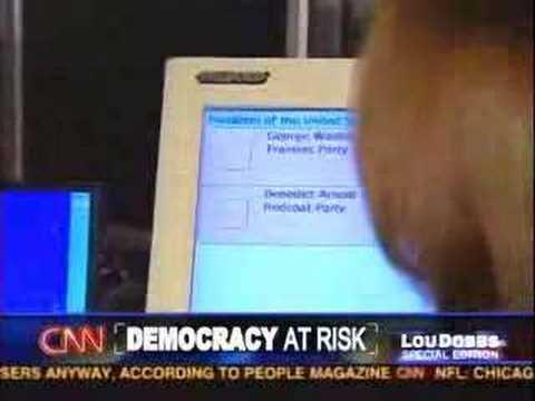 Ron Paul Fraud! 'Diebold' Vote Machines Steal 2008 Primaries