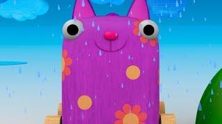 Maderitas - Episodio 2 - La Lluvia - Moolt Videos para Niños