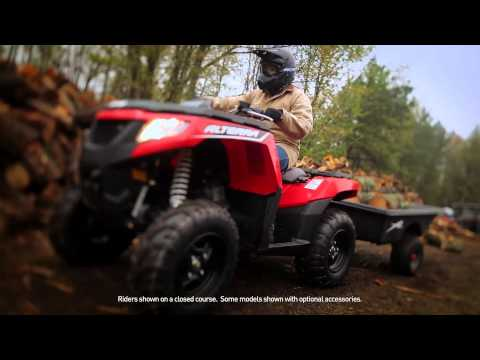 2016 Arctic Cat Alterra 550 XT in Roscoe, Illinois - Video 1