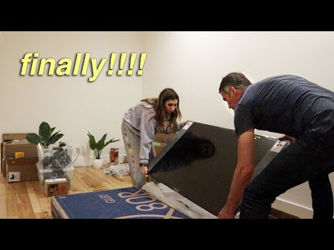 PARENTS ARE HERE TO HELP!!! setting up + updating my house!!
