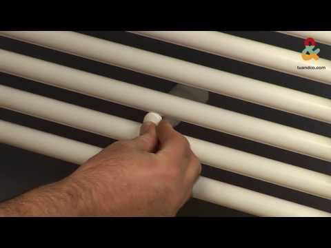 Cómo instalar un radiador-toallero monotubo