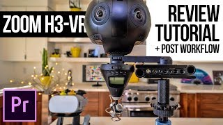 Zoom H3-VR Review, Tutorial + complete 3D Audio Post-Production workflow in Adobe Premiere