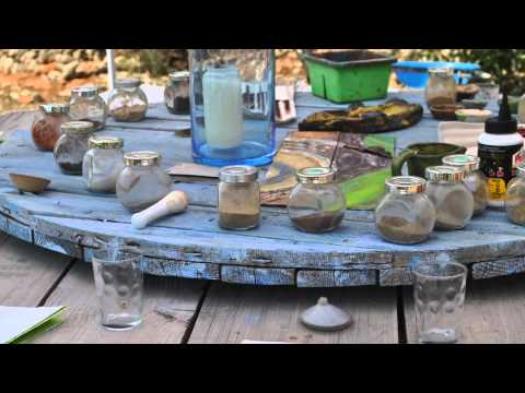 painting with natural pigments