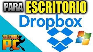 Descargar e instalar DropBox para escritorio / Configurar Correctamente