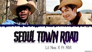 Lil Nas X, RM - Seoul Town Road (Old Town Road Remix) feat. RM of BTS (Lyrics)