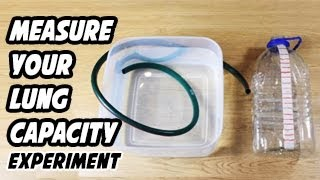 How To Measure Your Lung Capacity
