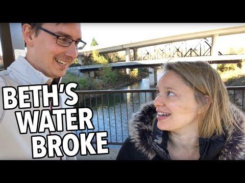 BETH'S WATER BROKE!