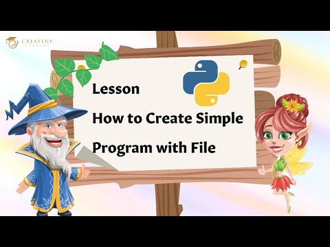 #4 Python Playground: Program with File | Computer Programming & Coding for Kids & Beginners