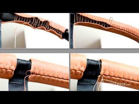 LederGlueck - Anleitung zum Anbringen der Griffbezüge