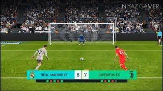 REAL MADRID vs JUVENTUS FC | Penalty Shootout | PES 2018 Gameplay PC