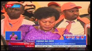 Vijana wanaogombea viti vya siasa wakutana katika makao makuu ya ODM