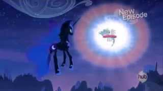 My Little Pony Friendship is Magic Twilight sees how Celestia banished Luna/Nightmare Moon