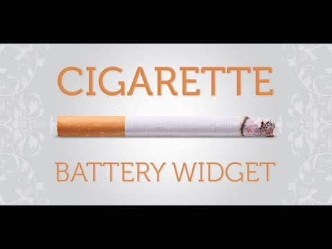 Video of Cigarette Smoking HD Battery