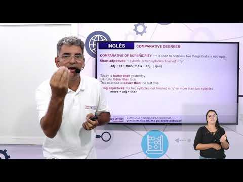 Aula 07 | Degrees of Comparison - Parte 02 de 03 - Inglês