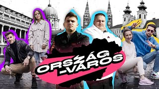 YOUTUBEREK VS. ORSZÁG-VÁROS VERSENY