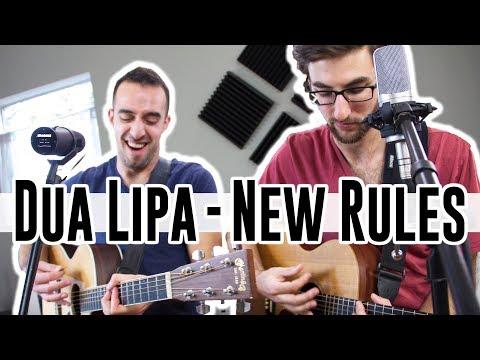 Download Dua Lipa - New Rules ACOUSTIC COVER Nick Warner and Niko Athanasatos Mp4 HD Video and MP3