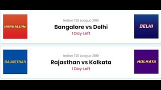 Indian T20 League | RCB vs DC | 11Wickets