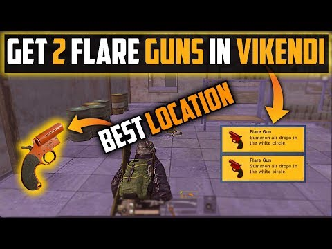 Where To Find Flare Gun Secret Places To Get Flare Gun In Vikendi