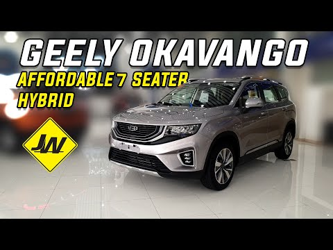 2021 GEELY OKAVANGO URBAN first look -Geely's 7 seater crossover is finally here