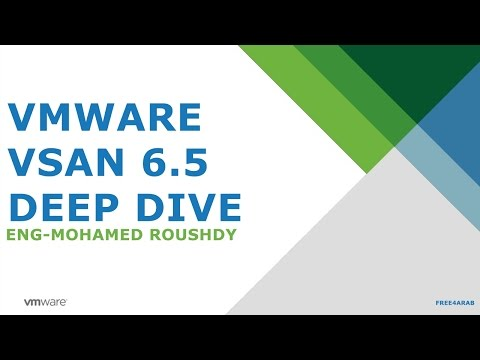 ‪03-VMware vSAN 6.5 - Deep Dive (vSAN Cluster Configuration) By Eng-Mohamed Roushdy | Arabic‬‏