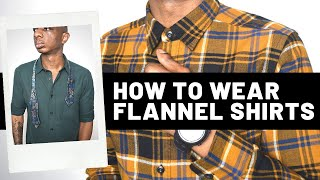 How To Wear Flannel Shirts (Uniqlo Review)   Mens Fashion Podcast