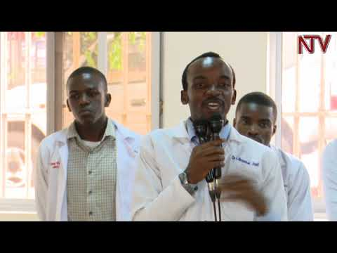 Mulago Medical Interns protest specialisation plan