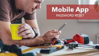 QuickBooks Time Mobile App: Password Reset