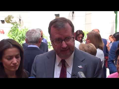 US Ambassador Richard Mills about Lydian