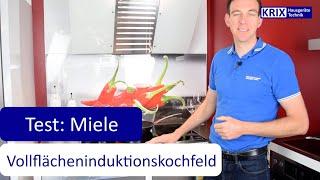 Test: Miele Vollflächeninduktionskochfeld KM 7678 FR
