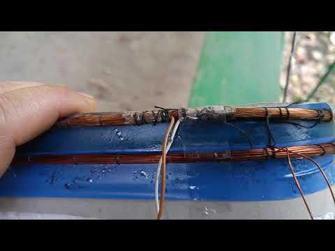 4.Самодельная катушка DD для металлодетектора