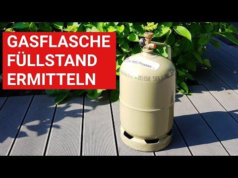 ♨️ GRILLBLITZ: Gasflasche - Wie ist der Füllstand? Ganz einfach den Gas Inhalt der Flasche ermitteln