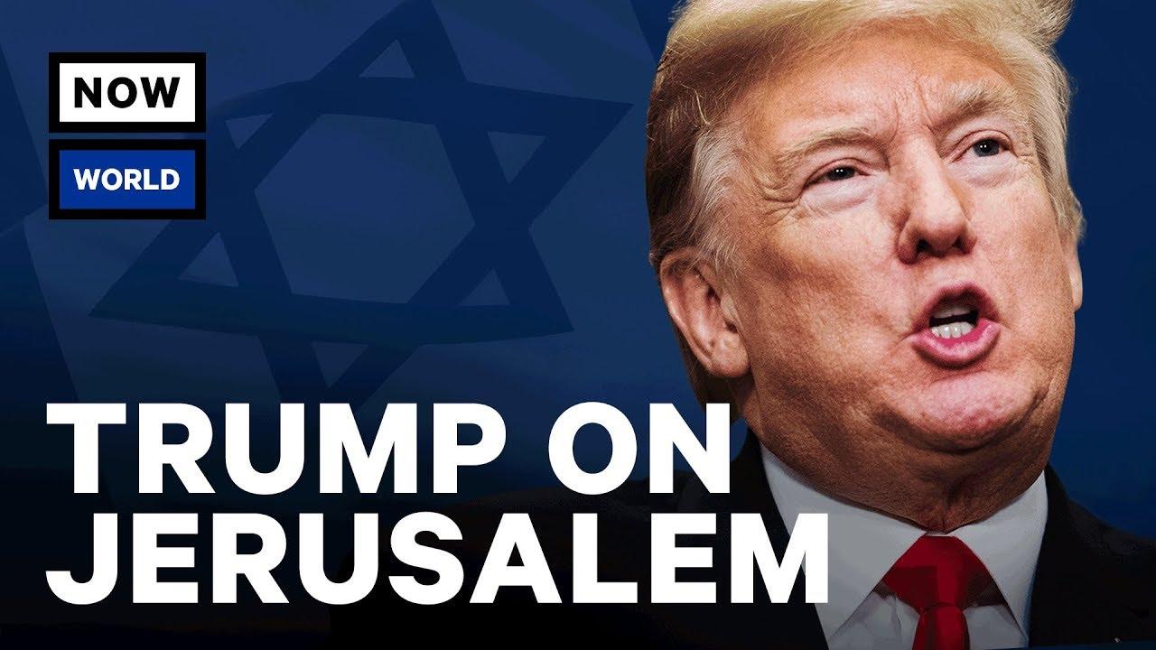 Donald Trump's Jerusalem Announcement Explained | NowThis World thumbnail