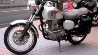 美人 美女 kawasaki ESTRELLA 250 わんこりん Motorcycle Race エストレア