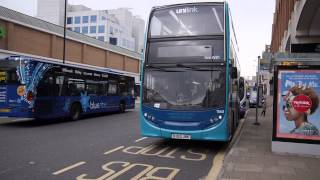 preview picture of video 'Southampton Buses 2 April 2014'