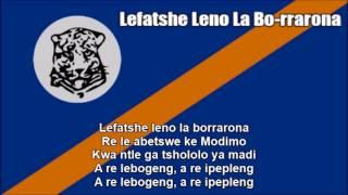 National Anthem of Bophuthatswana (Lefatshe Leno La Bo-rrarona) - Nightcore Style + Lyrics