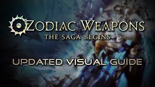 Final Fantasy XIV: Updated Zodiac Relic Guide for Stormblood