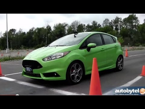 2014 Ford Fiesta ST Autocross Track Test Video