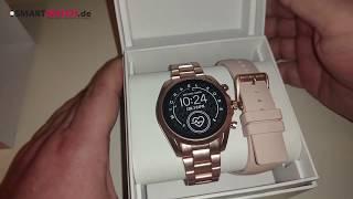 Michael Kors Access Bradshaw 2 Smartwatch.de - Unboxing [DEUTSCH]